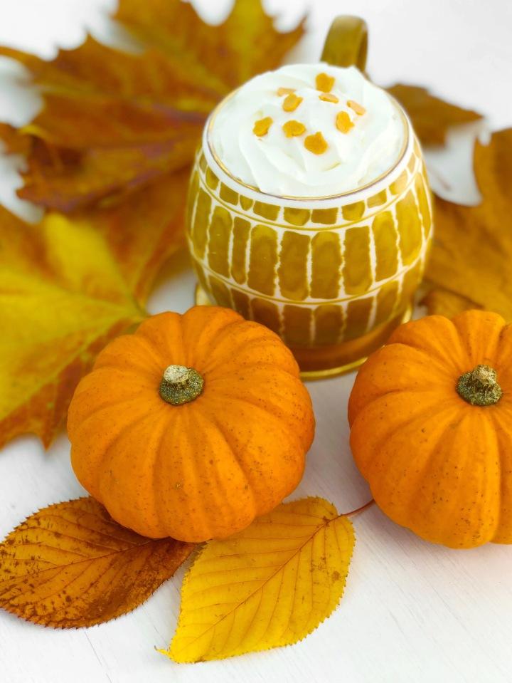 Vegan & Caffeine-Free Pumpkin SpiceLatte