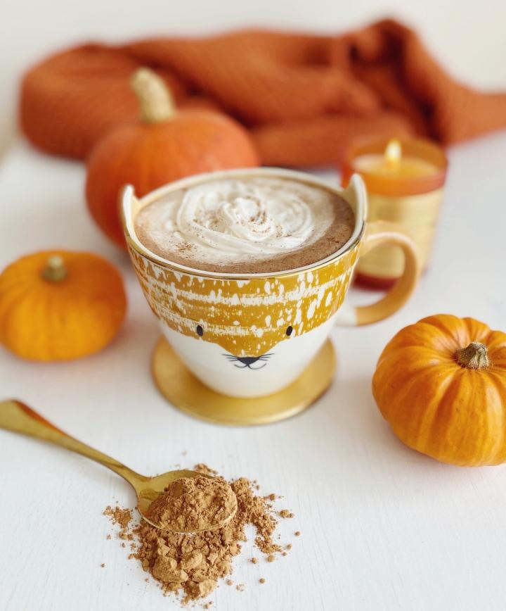 Vegan & Caffeine-Free Peppermint HotChocolate