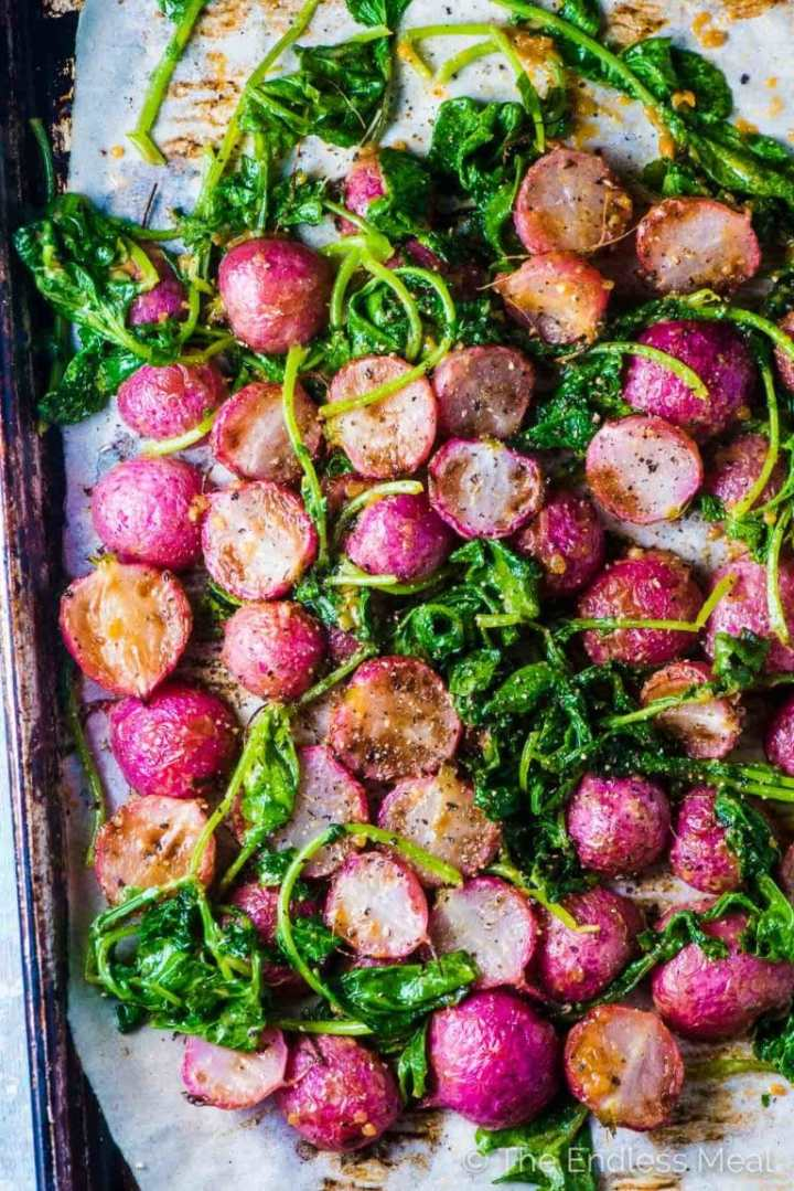 Miso-Butter-Roasted-Radishes-5